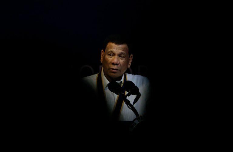 President Duterte's War on Drugs Is a Pretense