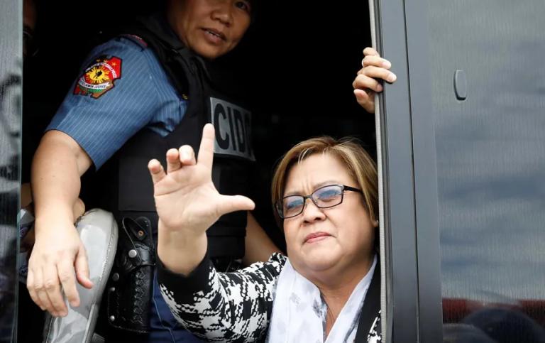 Not Even Prison Walls Can Silence Duterte's Nemesis
